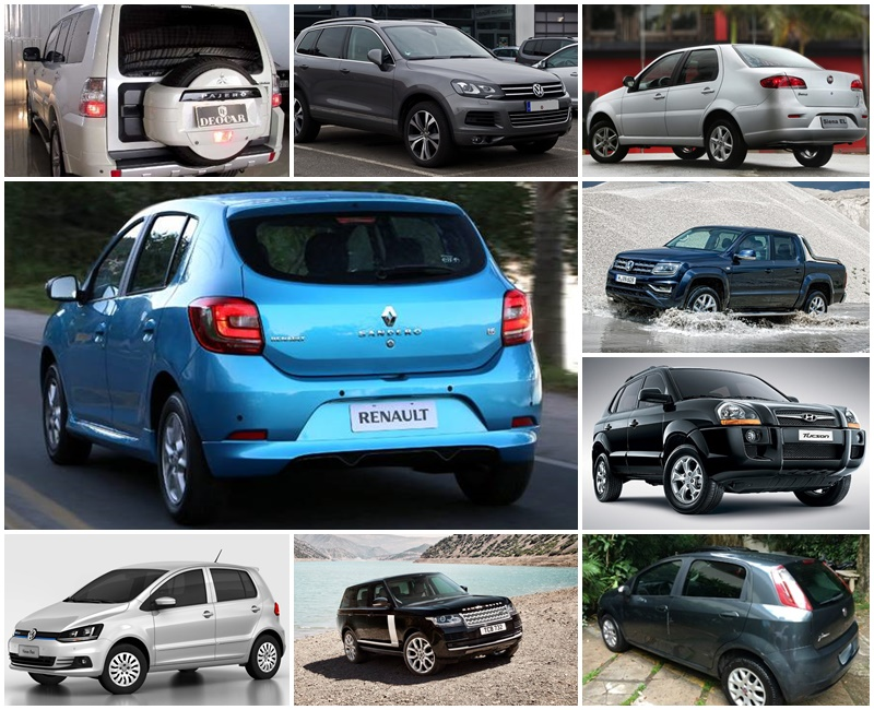 consumo de combustível carros brasil