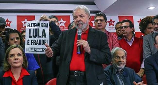 correção lula condenado concorrer cargo público