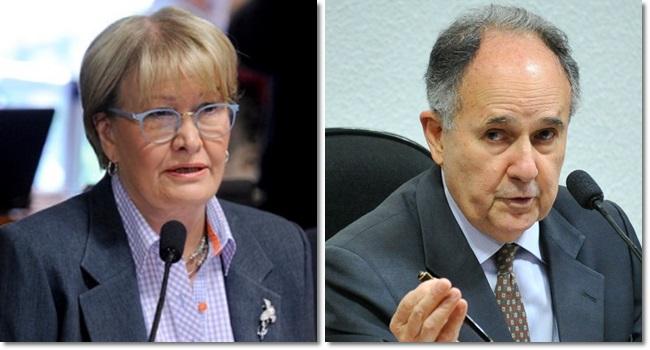 cristrovam Ana Amélia escolha ministro std ccj estranha