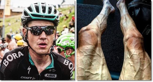 foto pernas ciclista pedalando choca mundo internautas