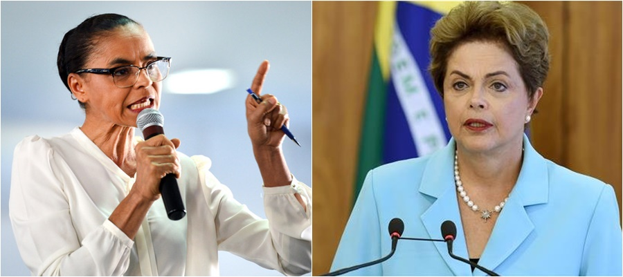 Marina Silva Dilma Lula condenado