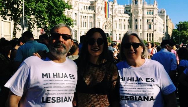 Mensagem de pai viralizou orgulho gay madrid espanha filha lésbica lgbt
