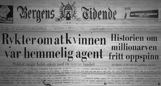 mulher de isdalen misterioso enigma noruega investigação