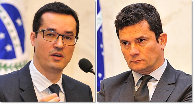 Sérgio Moro e Dallagnol ainda vestem fraldas ciência direito