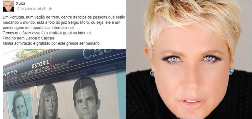 Xuxa sergio Moro Portugal facebook