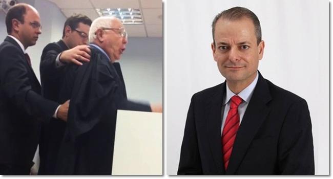 advogado preso chama desembargador vagabundo corrupto