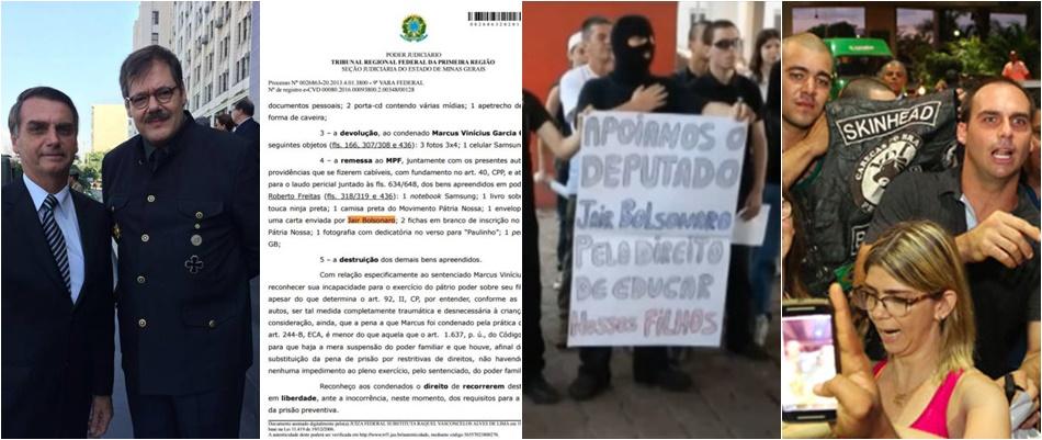 neonazistas brasileiros bolsonaro