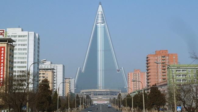 hotel de 105 andares Coreia do Norte