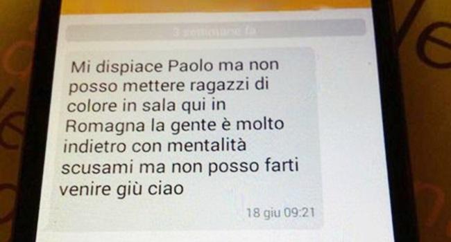 negro brasileiro rejeiado emprego itália racismo