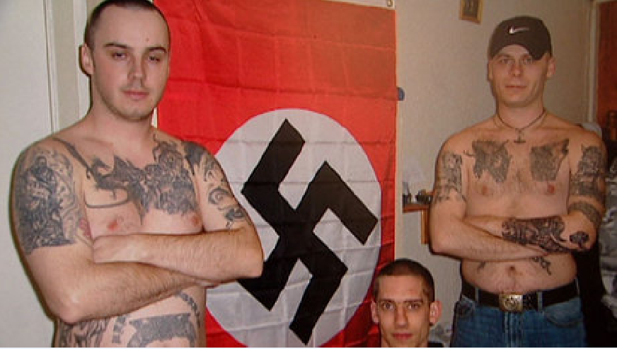 neonazista branco ancestral dna