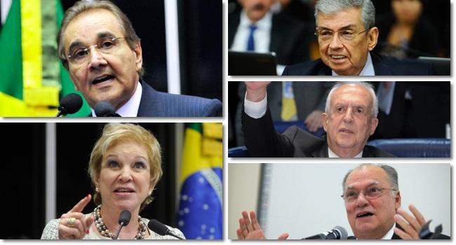 parlamentares investigados lava jato dispensado idade