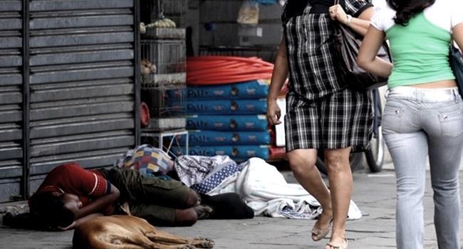 roubada levaram tudo drogas desigualdade preconceito
