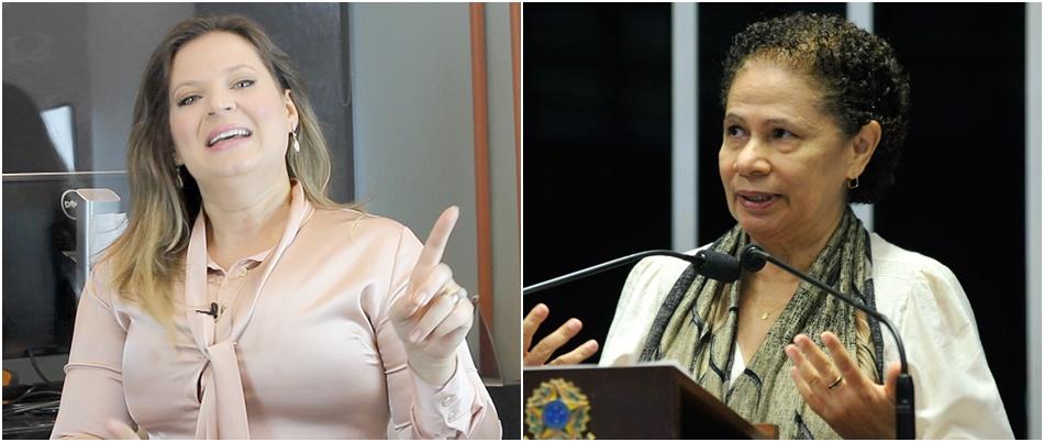 Senadora negra agredida por blogueira joice hasselmann