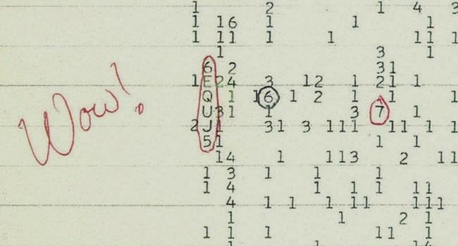 sinal espacial detectado intriga cientistas