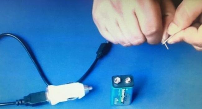 carregar bateria celular sem eletricidade