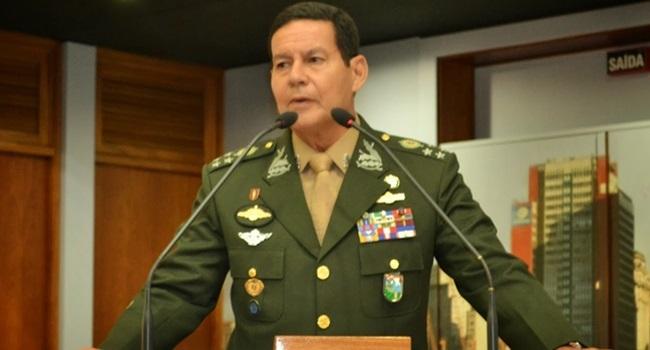 carta aberta intervenção militar General Antonio Hamilton Martins Mourão