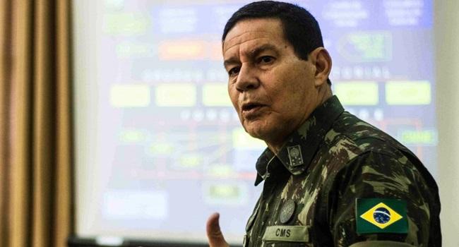 comandante explicação declaração de general sobre intervenção militar mourão