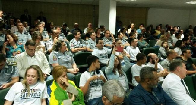 audiência direitos humanos invadida pms de cristo são paulo
