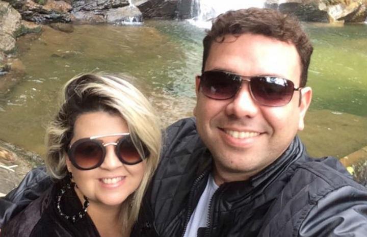 homem mata esposa grávida Aline Vitoriano