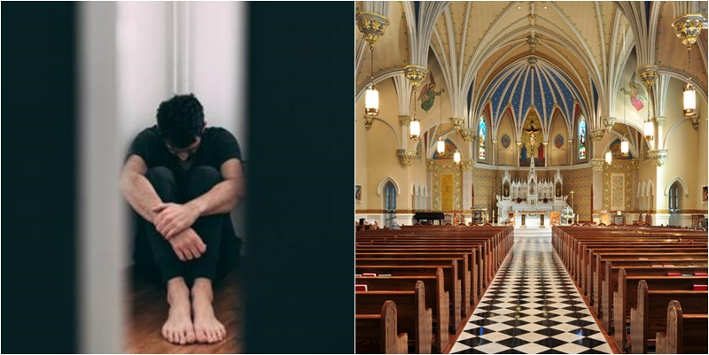 abusado por padre igreja