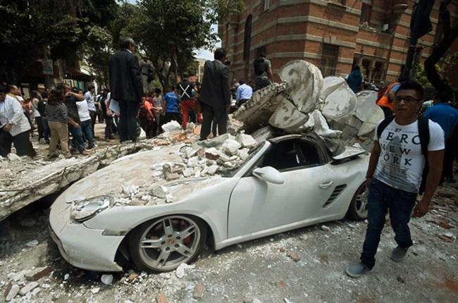 imagens mais marcantes terremoto méxico
