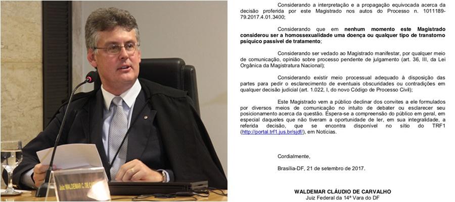 cura gay juiz Waldemar