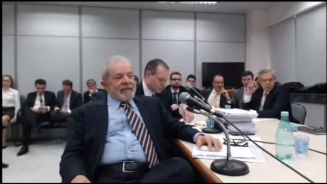 lula depoimento de Lula moro curitiba vídeo