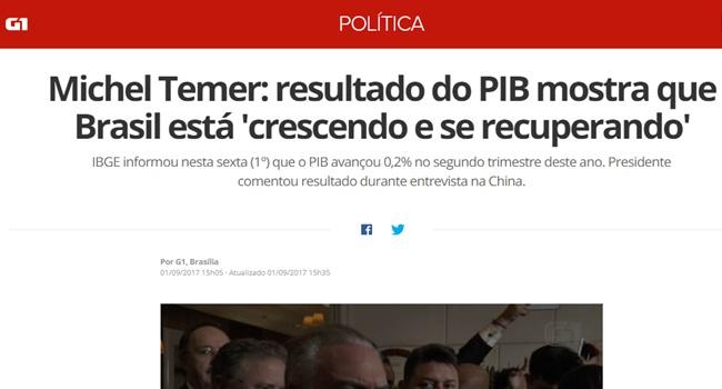 mitos e verdades recuperação do brasil governo temer economia
