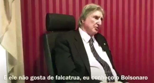 sergio reis declara apoio jair bolsonaro eleições 2018 presidente
