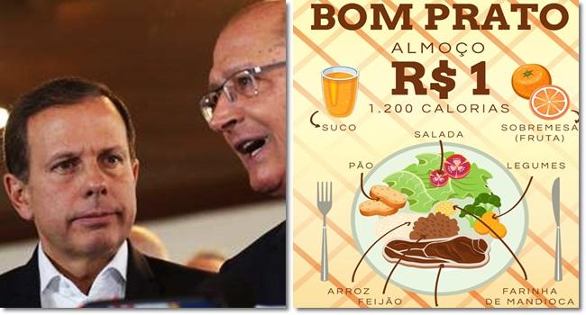 alckmin manda indireta doria ração alimentação são paulo