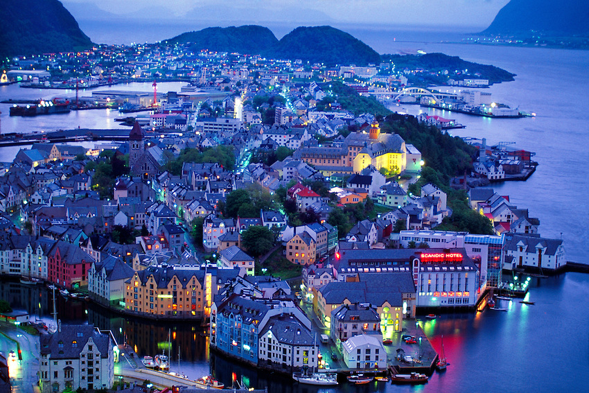 Noruega IDH Alesund cidade