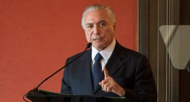 crimes ambientais perdoados michel temer