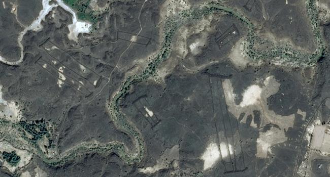 estruturas misteriosas Arabia Saudita pedra descobertas Google Earth