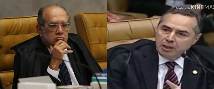 Barroso e Gilmar Mendes barraco no STF