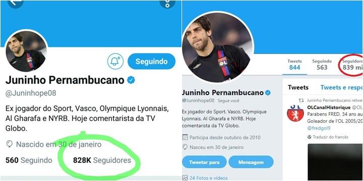 Ex-jogador Juninho Pernambucano causa polêmica com comentário sobre Bolsonaro