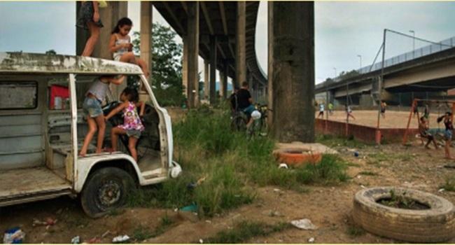 muro vergonha favela desigualdade rio de janeiro são paulo