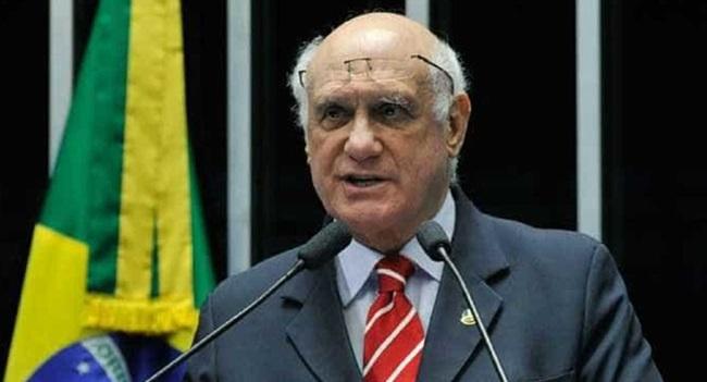 Lasier Martins senador investigado violência doméstica presenteado stf