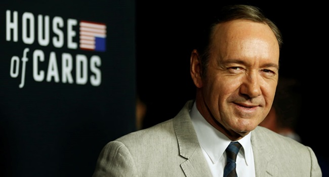 House of Cards acusam Kevin Spacey abuso sexual