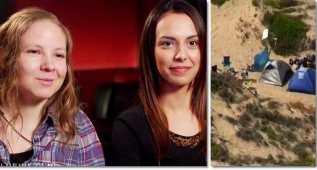 atacadas praia deserta na austrália falam primeira vez