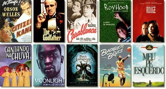 lista melhores filmes todos os tempos avaliações oscar premiações