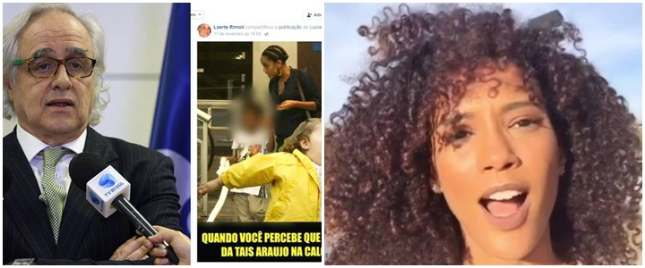 racismo taís araújo presidente ebc