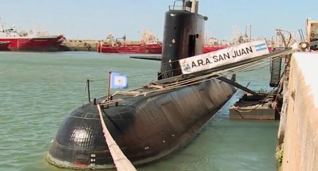 submarino desaparecido argentina tripulantes envia chamados