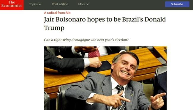 the economist publica análise bolsonaro irrita fãs