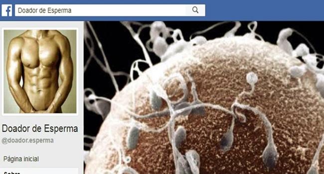 venda ilegal de esperma cresce brasil facebook doação Sémen