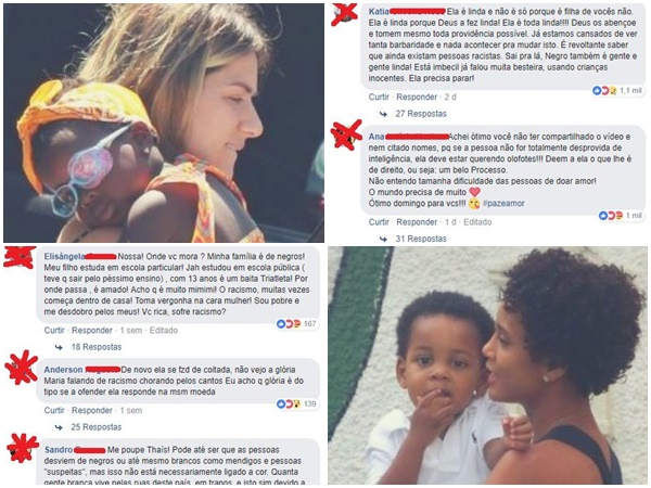 mães denunciam racismo