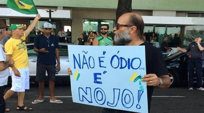 dura vida esquerda brasil anticomunista ódio