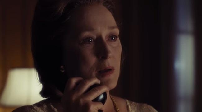 cena incrível Meryl Streepfilme the post guerra