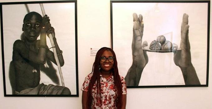 imagens não são fotos preto e branco desenho arte Chiamonwu Joy
