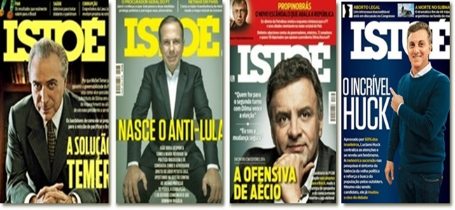 revista Istoé cria falsos heróis direita ódio mídia desonesta