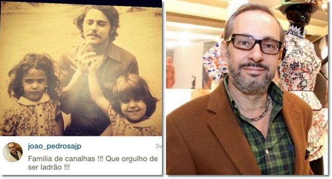 João Pedrosa jornalista condenado ofender chico buarque família
